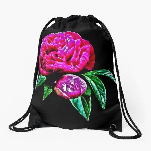 In Bloom Drawstring Bag