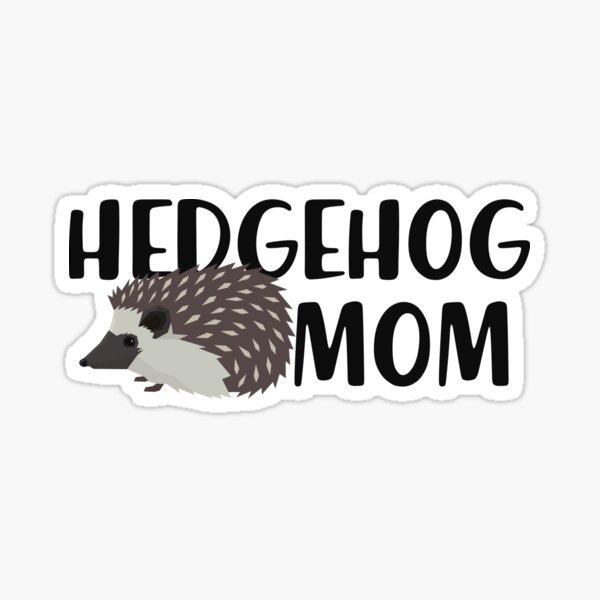 Hedgehog Mom Sticker
