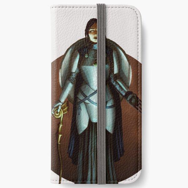 Elf Priestess Fantasy Portrait Print iPhone Wallet