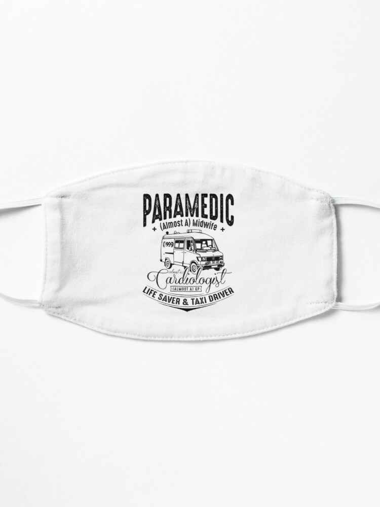 Alternate view of Paramedic - Life Saver and Taxi Driver Mask