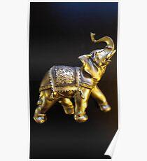 Good Luck Elephant Poster