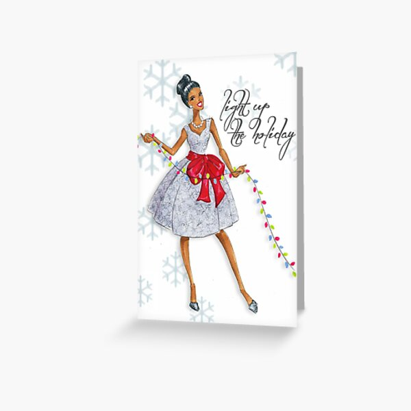Light Up The Holiday! Greeting Card