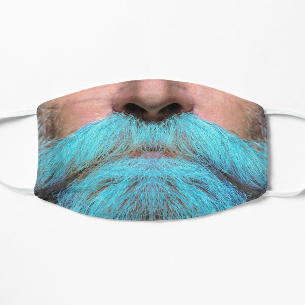 A luscious blue beard - Mask only Mask