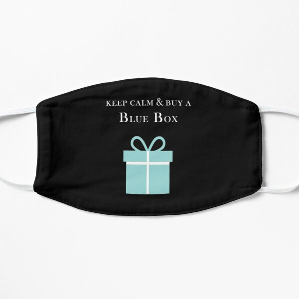 Keep calm & buy a Tiffany Blue Box Flat Mask