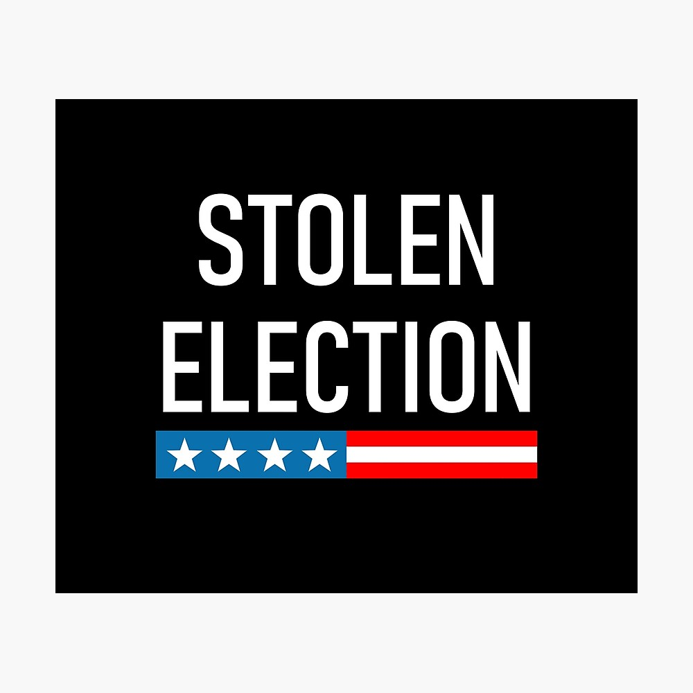 "Stolen Election"" Photographic Print by lincolnbone 