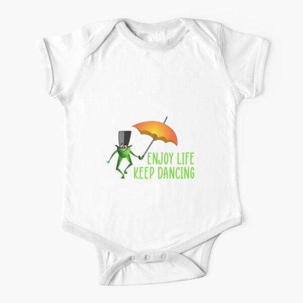 Enjoy Life Keep Dancing Short Sleeve Baby One-Piece