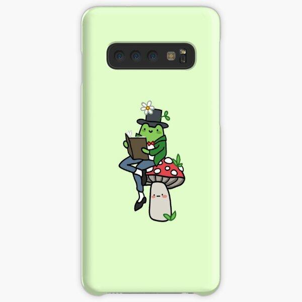 green gentleman Samsung Galaxy Snap Case