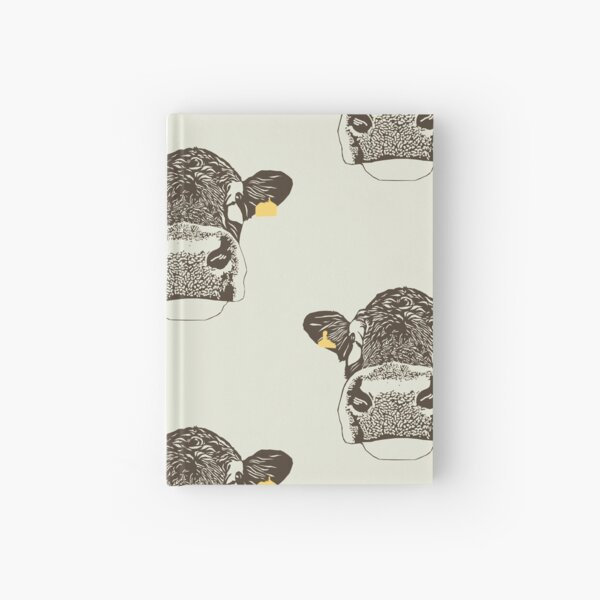 Lady Cow Hardcover Journal