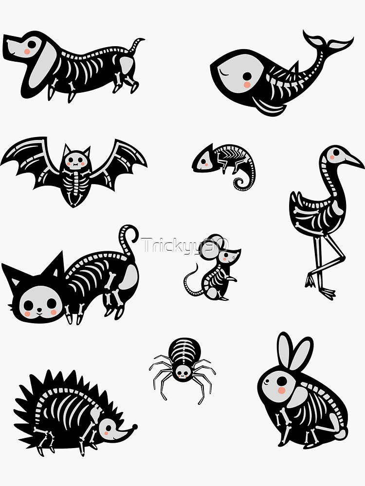 Skeleton Creatures Pack by Trickyy90