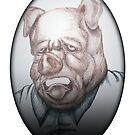 Pig Face by Manbalcar