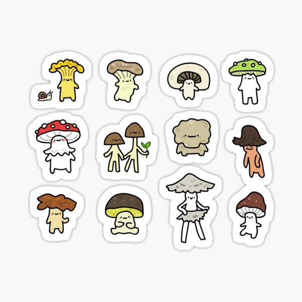 fungi friends Sticker