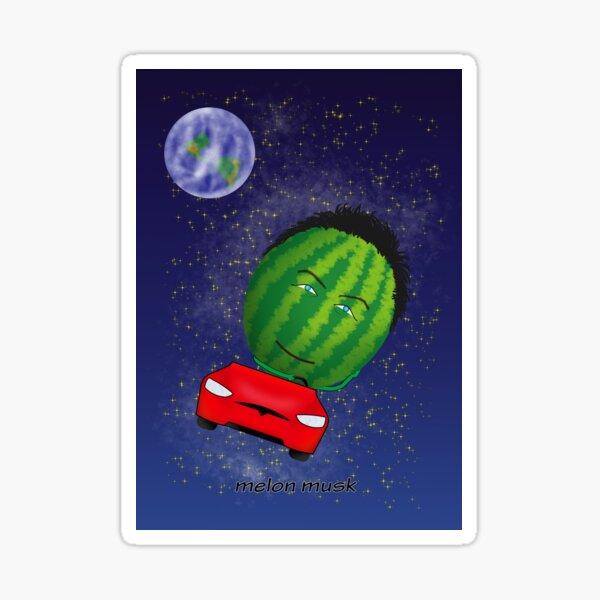 melon musc Sticker