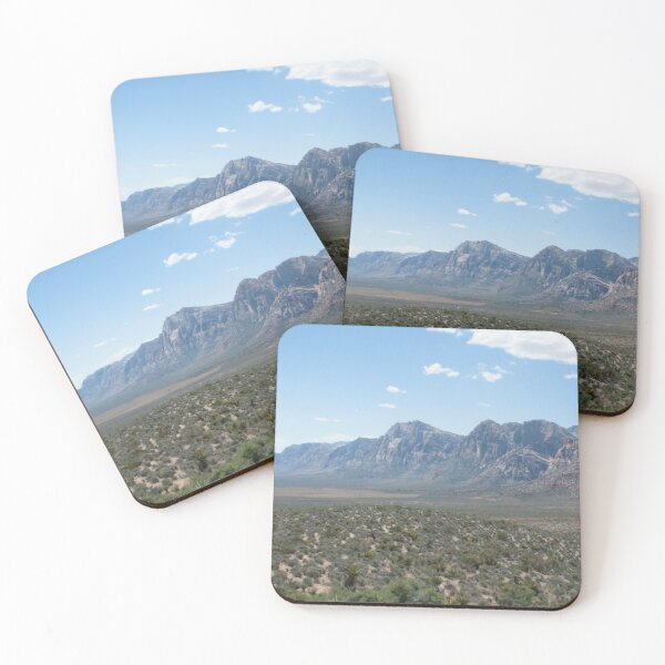 Red Rock Canyon Coasters (Set of 4)