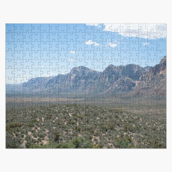Red Rock Canyon Jigsaw Puzzle