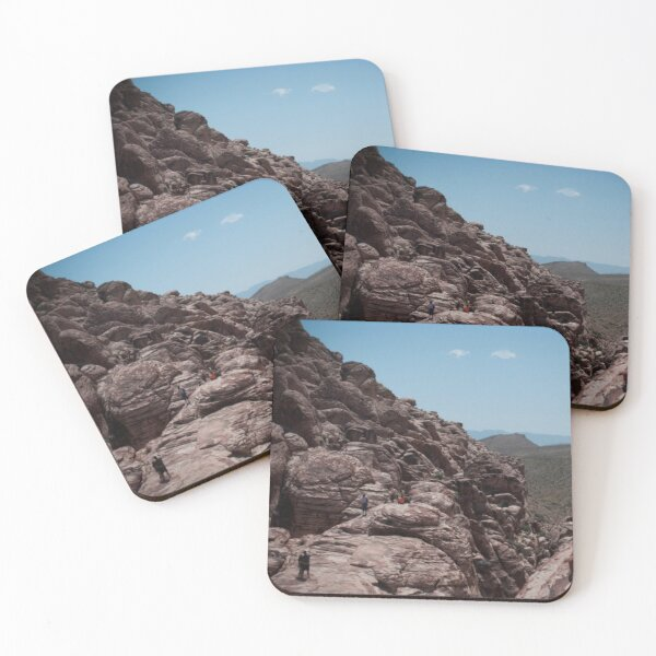 Red Rock Canyon Visitors Coasters (Set of 4)