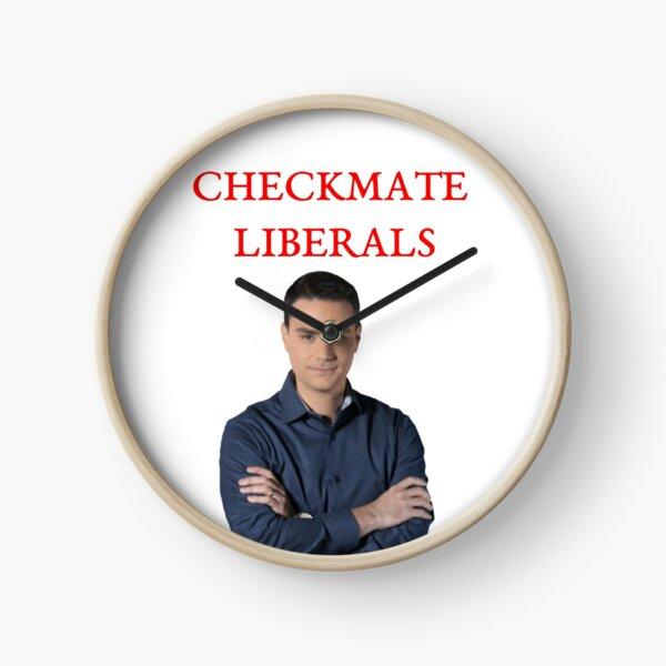 Ben Shapiro Checkmate Liberals Clock