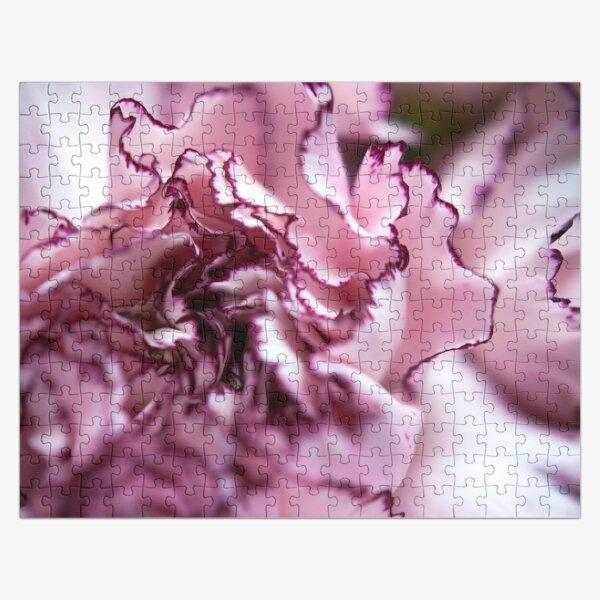 Purple-Edged Carnation Jigsaw Puzzle