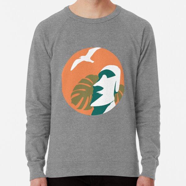 Moai Meditation Lightweight Sweatshirt
