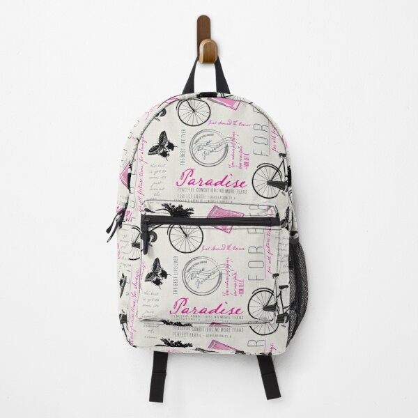 Just around the corner in hot pink Backpack