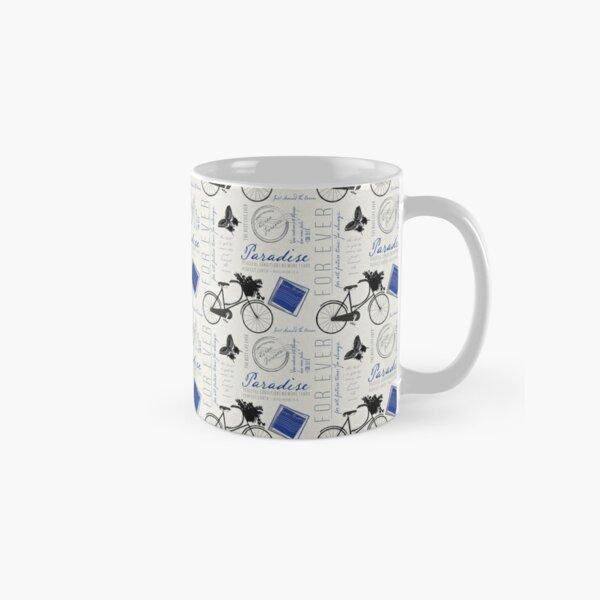 Just around the corner in royal blue Classic Mug