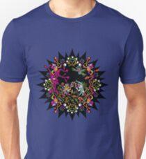 Aztec meeting psychedelic T-shirt T-Shirt