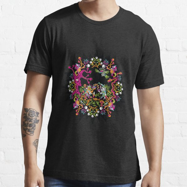 Aztec meeting psychedelic T-shirt Essential T-Shirt