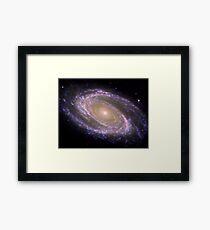 Spiral galaxy Messier 81. Framed Print