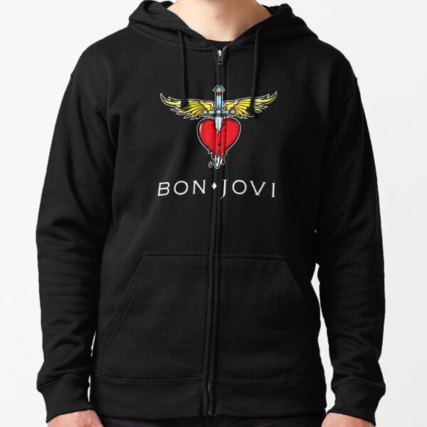 bon jovi 2021 tour we can rabu Gifts For Fans, For Men and Women, Gift Christmas Day Zipped Hoodie