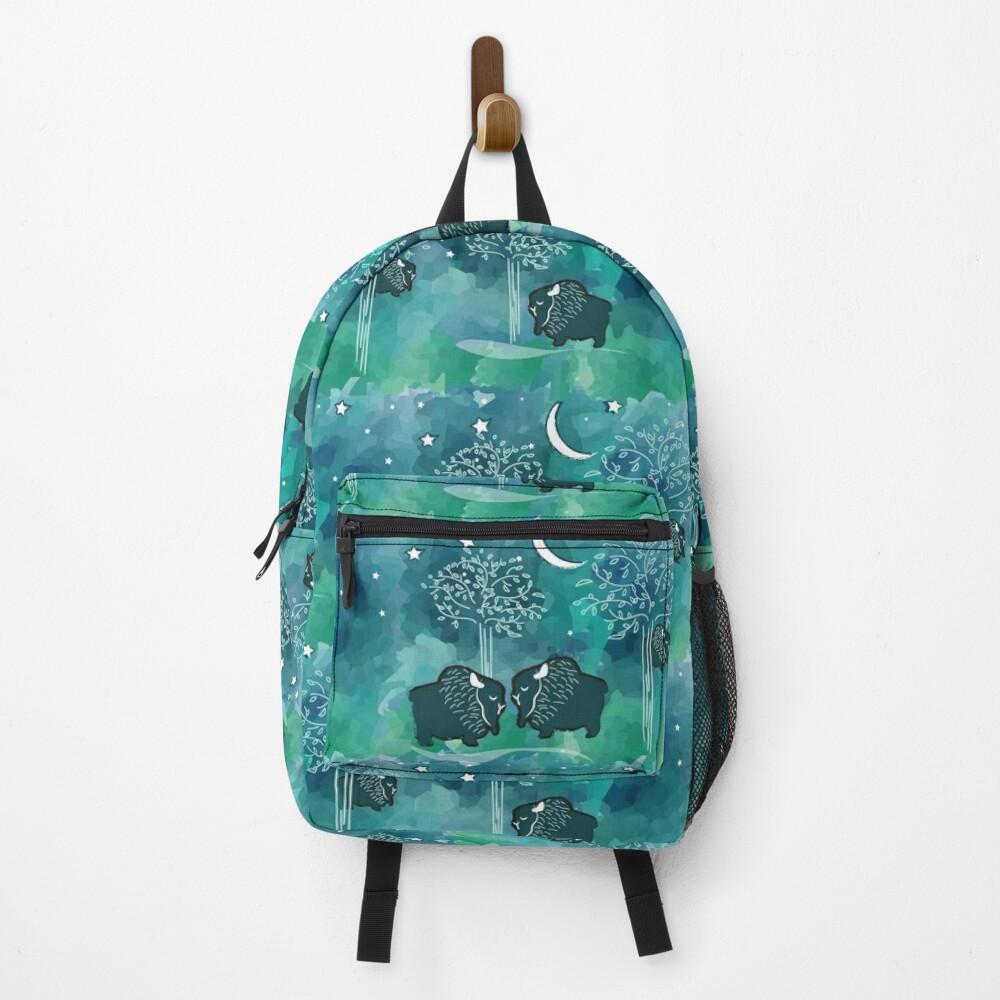 Dark night shine bright Backpack