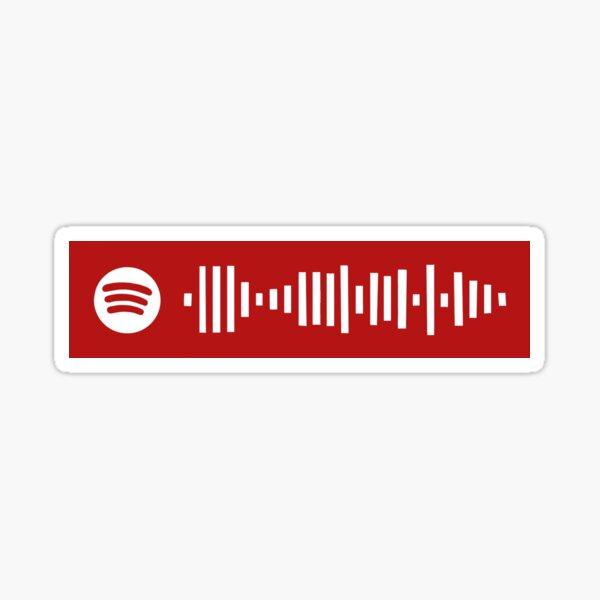 Dixieland Delight Spotify Code Sticker