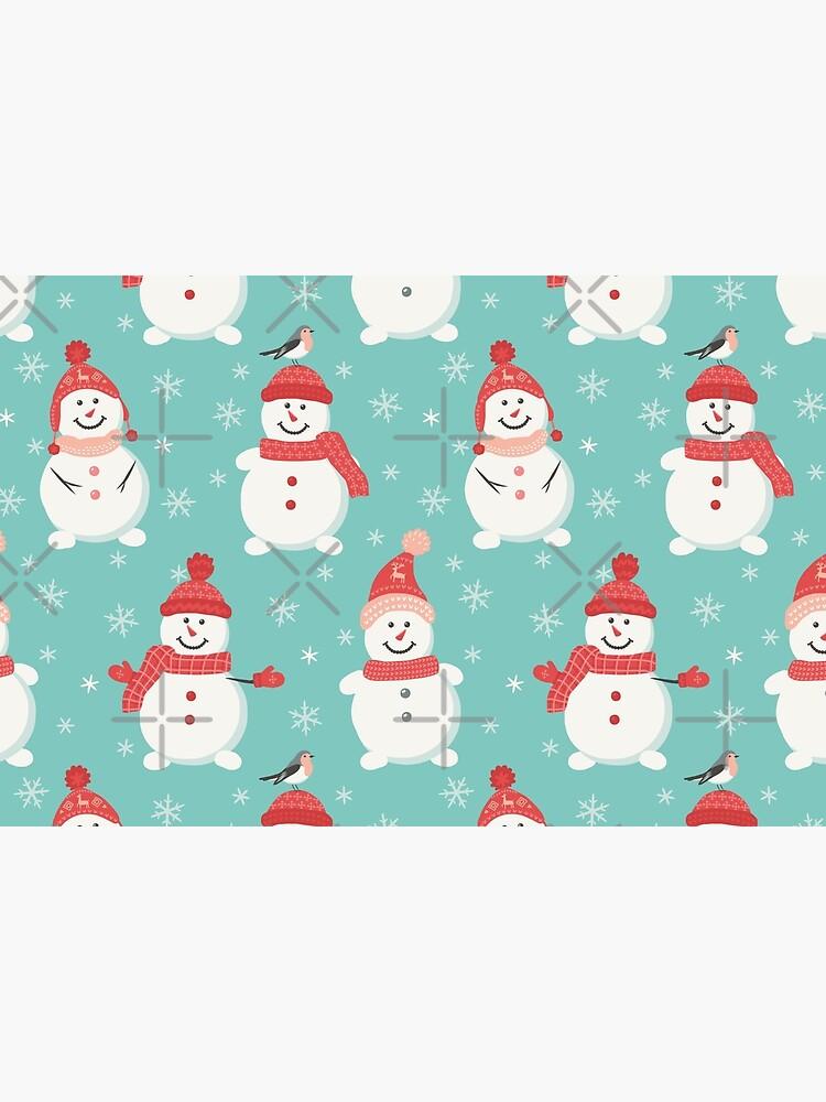 Merry Snowmen by nadyanadya
