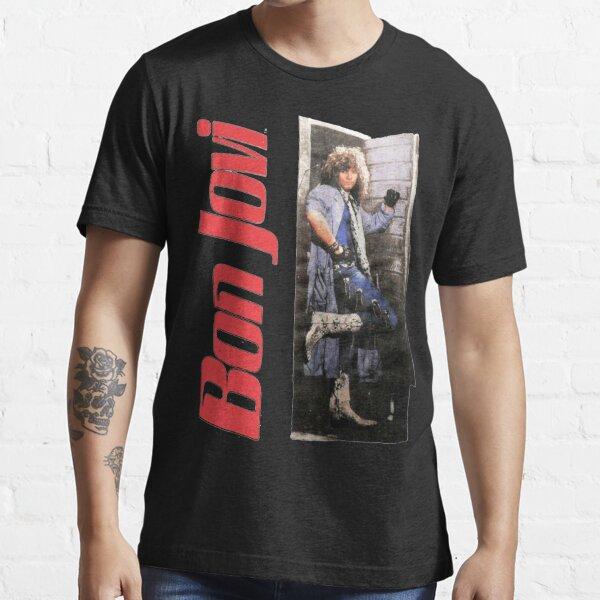 Vintage 1987 Bon Jovi Slippery When Wet World Regalos para fanáticos, para hombres y mujeres, regalo el día de Navidad Camiseta esencial