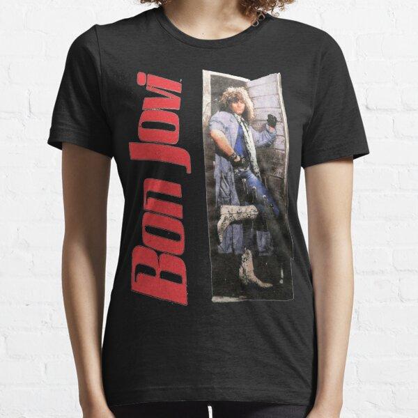 Vintage 1987 Bon Jovi Slippery When Wet World cadeaux pour les fans, pour hommes et femmes, cadeau le jour de Noël T-shirt essentiel