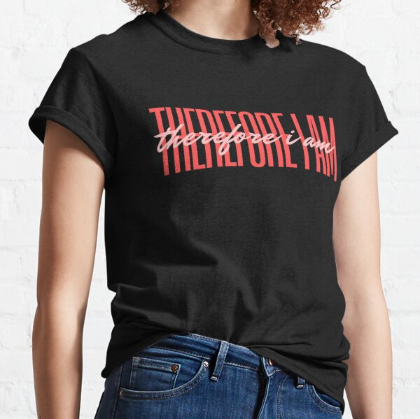 Therefore I am Billie Eilish Classic T-Shirt