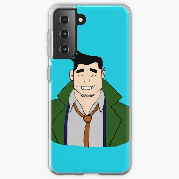 Detective Dick Gumshoe - Ace Attorney Samsung Galaxy Soft Case