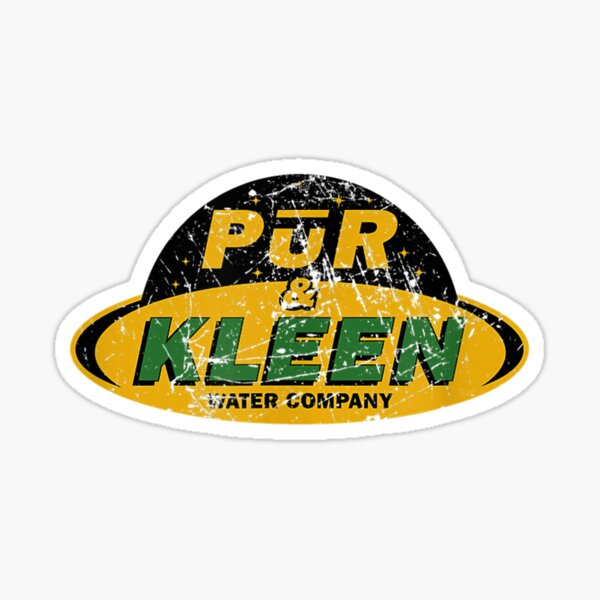 The Expanse Pur & Kleen Water Company Logo  Sticker