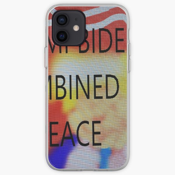 TRUMP BIDEN COMBINED AND AT PEACE iPhone Soft Case