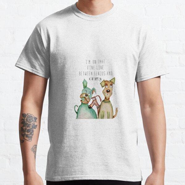 Crazy genius dog Classic T-Shirt