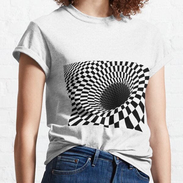 Optical Illusion, Visual Illusion, Cognitive Illusion  Classic T-Shirt
