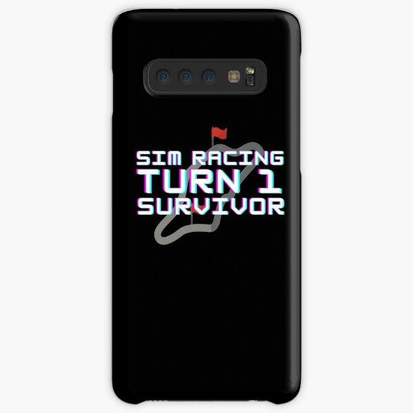 Sim Racing turn 1 survivor Samsung Galaxy Snap Case