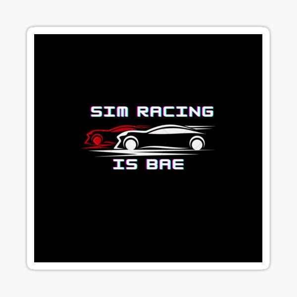 Sim Racing est bae Sticker