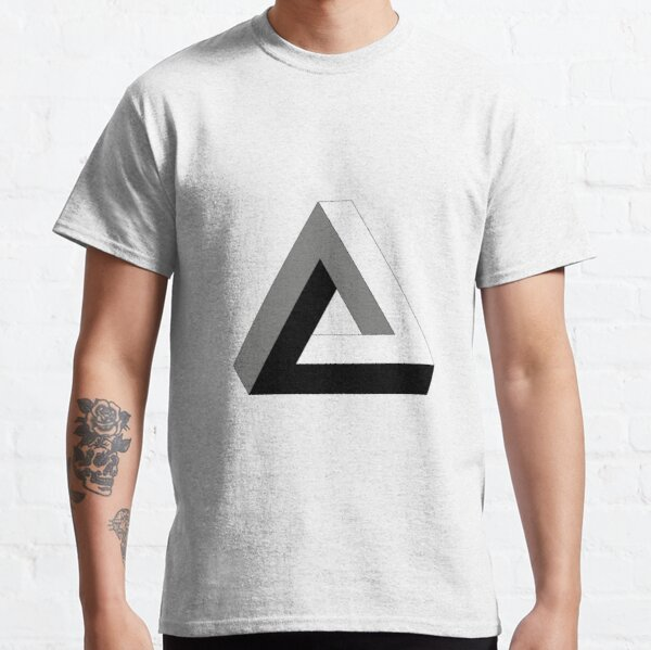 Illusion is a step away from reality and optical illusions are those that relate images we see to others that we visualize, perceive, or relate to Classic T-Shirt