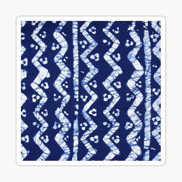 Batik Cloth Textile Pattern Sticker