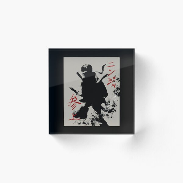 Here Comes the Ninja Acrylic Block