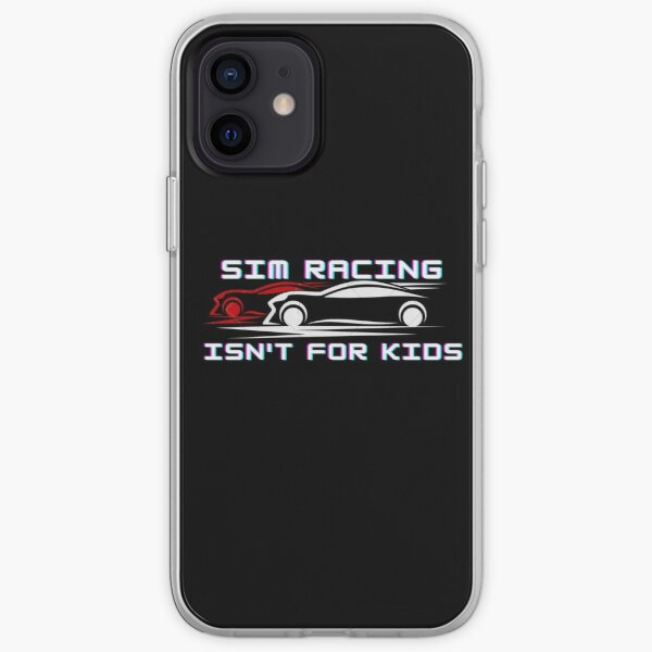Sim Racing isn't for kids iPhone Soft Case
