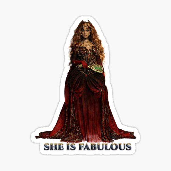 She is Fabulous Sticker