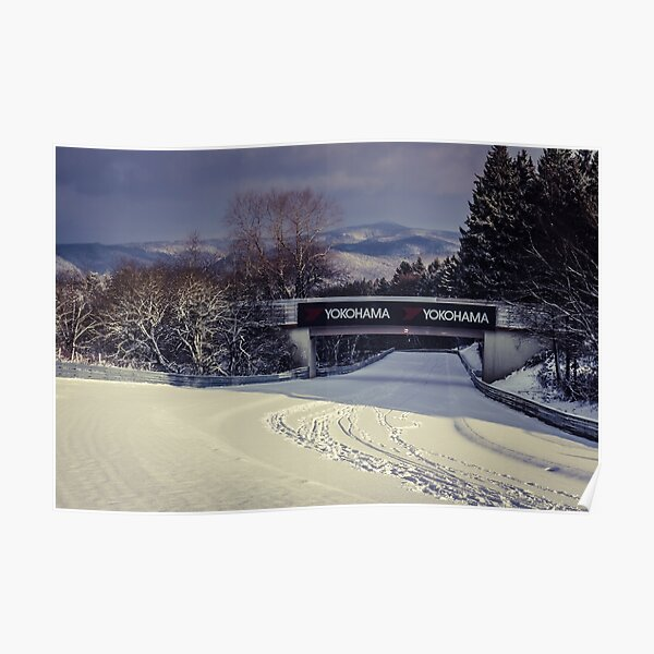 Nordschleife - Aremberg under snow Poster
