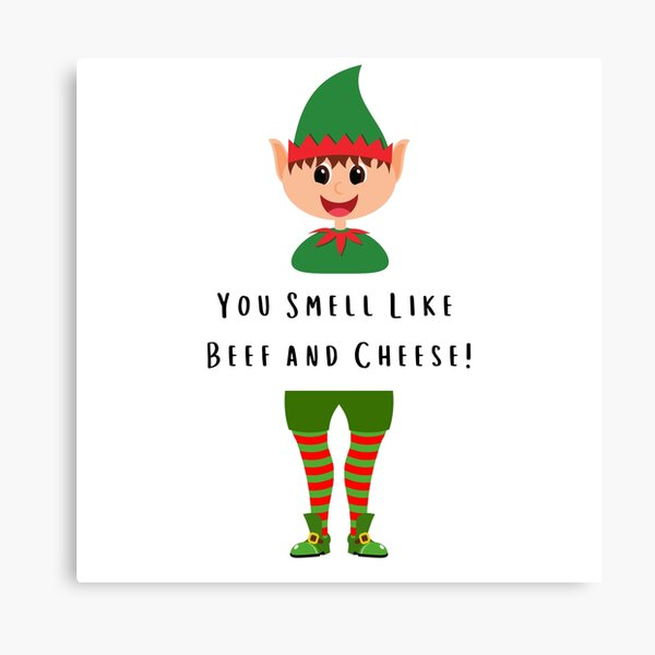 Elf Movie Quotes 8x10 Handmade Canvas Details about  /Buddy the Elf