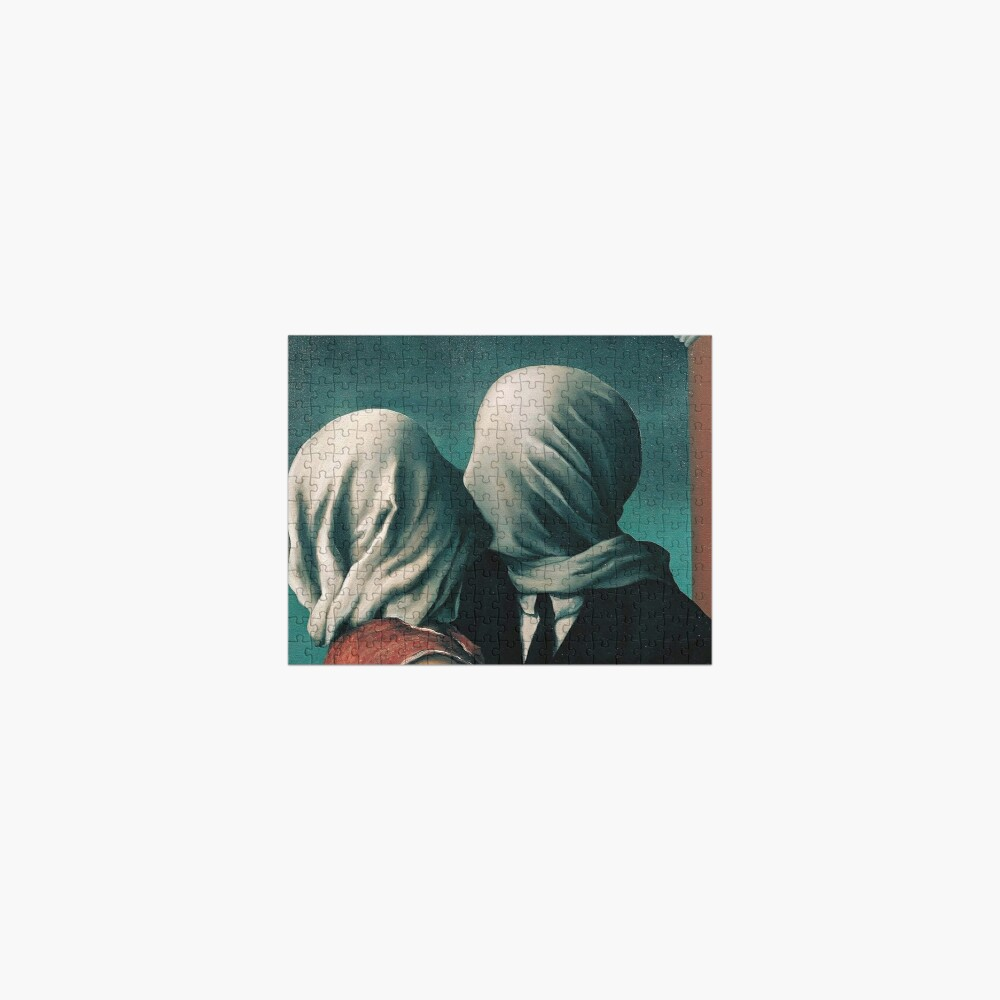 Rene Magritte The Lovers  Jigsaw Puzzle