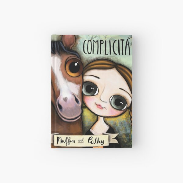 The girl and the horse Hardcover Journal